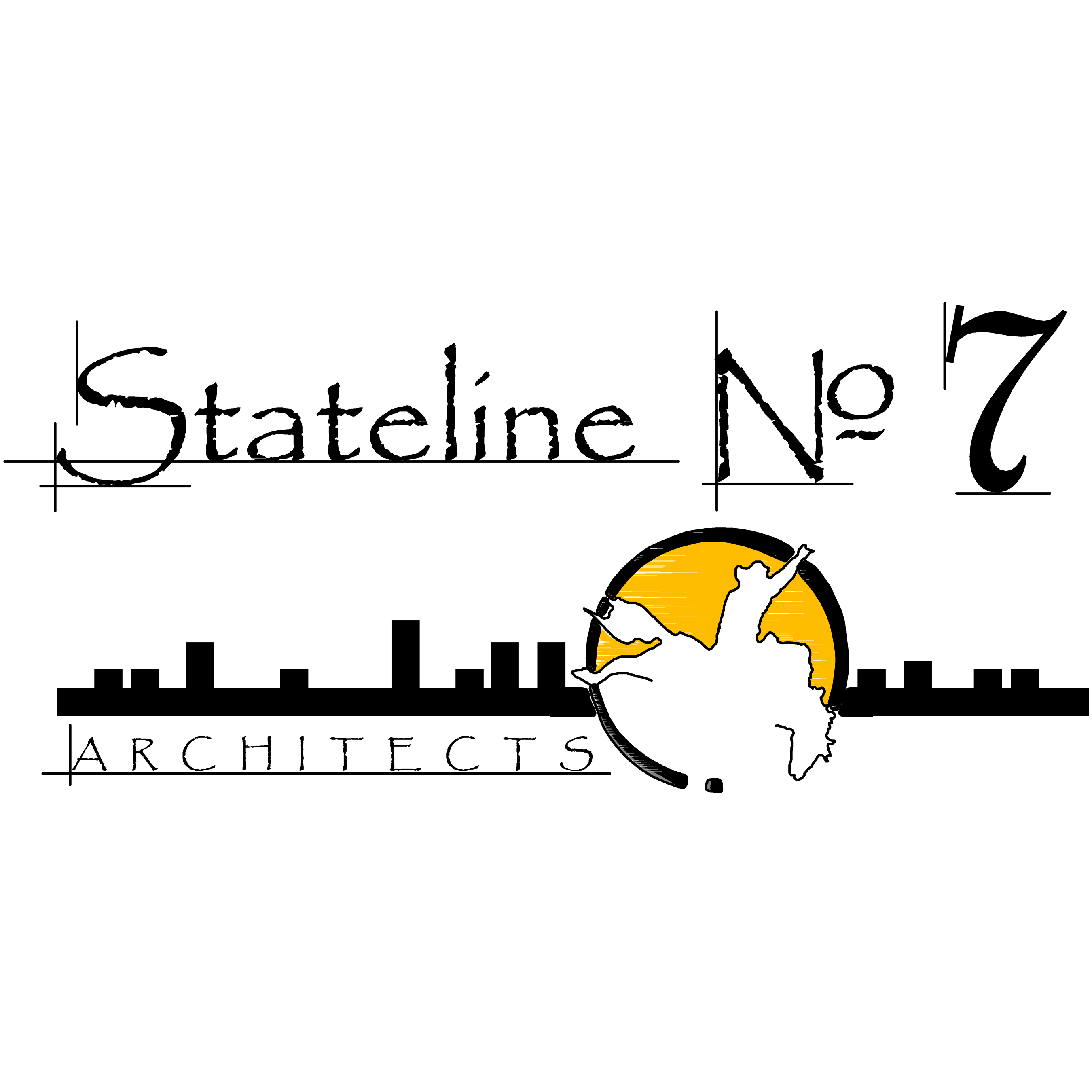 Stateline No. 7 Architects Logo